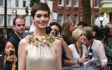 US actress Anne Hathaway. Picture: AFP.