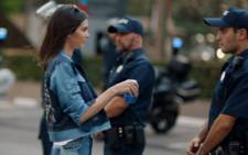 A screengrab of the Pepsi ad featuring Kendall Jenner.