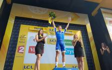 Quick-Step Floors rider Marcel Kittel celebrates his Stage 6 Tour de France victory on 6 July 2017. Picture: @LeTour/Twitter