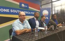 The DA briefed the media on 9 June 2019 following a sitting of the party's federal council at Nkululeko House in Johannesburg. Picture: @Our_DA/Twitter