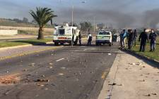 FILE: Police had to use rubber bullets to try and disperse angry crowds in Port Elizabeth. Picture: SAPS.