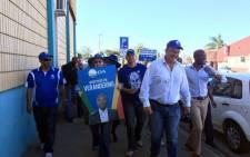 The Democratic Alliance's (DA) Mmusi Maimane and Helen Zille campaigned in Port Elizabeth over voters' registration weekend . Picture: @Our_DA via Twitter.