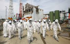 FILE PICTURE: Fukushima Dai-Ichi nuclear power plant in Okuma Town. Picture: AFP.