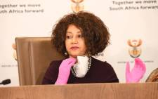 FILE: Ex-Minister of Human Settlements, Water & Sanitation Lindiwe Sisulu. Picture: @The_DHS/Twitter.