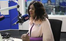 FILE: Former Public Proctor advocate Thuli Madonsela during an interview on Radio 702. Picture: 702.