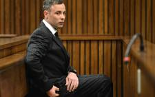FILE: Oscar Pistorius at the Pretoria High Court. Picture: Pool.