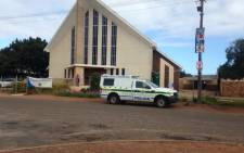 Voters trickled in at the Dutch Reformed Church in Darling North. Picture: Shamiela Fisher/EWN.