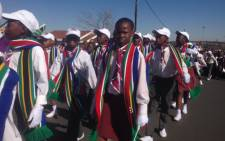 School children marched through the streets of Soweto ahead of Youth Day celebration to underscore the importance of education on 15 June 2015. Picture: Vumani Mkhize/EWN.