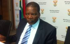 FILE: Water and Sanitation Minister Gugile Nkwinti. Picture: EWN.