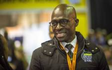 Minister of Finance Malusi Gigaba poses for some pictures at breakfast at the ANC NPC at Nasrec. Picture: Thomas Holder/EWN