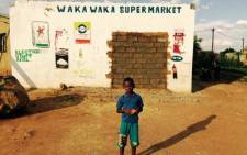 The spaza shop in Snake Park where Siphiwe Mahori was shot and killed has been bricked up by its owners. Picture: Dineo Bendile/EWN.