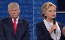 FILE: US Democratic presidential candidate Hillary Clinton and US Republican presidential candidate Donald Trump. Picture: CNN.