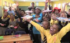 FILE: Children at Kabelo primary school celebrate the happiness Kellogg's brought with them on World Food Day.Picture : Kgothatso Mogale/EWN