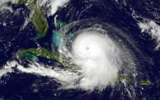 FILE: Alex was rated a 'Category 1' hurricane, which is the lowest rating on the five-tier Saffir-Simpson hurricane wind scale. Picture: AFP.