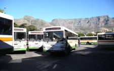 Bus drivers are striking on Wednesday as wage negotiations have reached a deadlock, with unions asking for a 12% increase & bosses offering 7%. Picture: Bertram Malgas/EWN