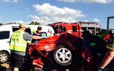 FILE: At least 35 people were killed in a bus crash near Butterworth in the Eastern Cape.