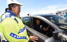 FILE: Transport Minister Dipuo Peters launches the National Road Safety Festive Season in Harrismith, Free State Province. Picture: GCIS