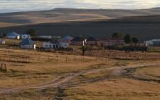 Mqhekezweni, where Mandela spent his teenage years, at sunset. Picture: Aletta Gardner/EWN