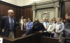 Rob Packham leaves the Western Cape High Court on 20 May 2019 after being found guilty of his wife Gill Packham's murder. Picture: Lauren Isaacs/EWN