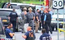 A screengrab of the scene of a deadly limousine crash in New York. Picture: CNN