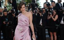 """Model Milla Jovovich arrives for the screening of """"On the Road"""" presented in competition at the 65th Cannes film festival on May 23, 2012 in Cannes. Picture: AFP."""