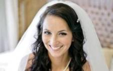 Jayde Panayiotou on her wedding day. Picture: facebook.com