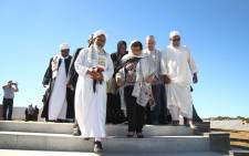 ANC deputy secretary-general Jessie Duarte and Science and Technology Minister Naledi Phando visited the kramat of Sheikh Yusuf in Macassar, near Cape Town on 11 February 2018. Picture: Bertram Malgas/EWN