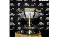 The Mzansi Super League trophy. Picture: Supplied