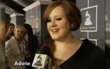 FILE: British singer Adele. Picture: Screengrab/CNN.