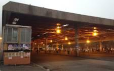 Cape Town bus terminus. Picture: Lauren Isaacs/EWN