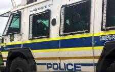 A police nyala. Picture: EWN.