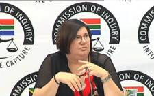 Former Free State Finance MEC Elizabeth Rockman told the Zondo Commission that when Treasury visited the Vrede dairy farm in 2013, it seemed to be operating optimally. Picture: YouTube screengrab.