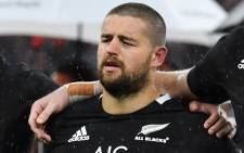 FILE: New Zealand's Dane Coles lines up before the autumn international rugby union match between England and New Zealand at Twickenham stadium in south-west London on 10 November 2018. Picture: AFP.
