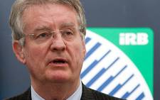 Bernard Lapasset, French Chairman of the International Rugby Board (IRB). Picture: AFP