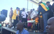 The ANC also kicked off its Mandela Day celebrations in Orange Farm on 16 July, 2016. Picture: Dineo Bendile/EWN.