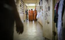 FILE: Emergency Support Team of Correctional Services conducted a special search at the Johannesburg Maximum Prison on 20 December 2018. Picture: Sethembiso Zulu/EWN.