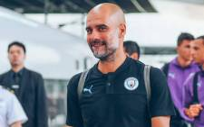 Manchester City manager Pep Guardiola. Picture: @ManCity/Twitter