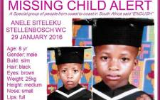 EWN Missing Children Special Feature