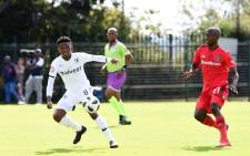 Orlando Pirates took full advantage of Mamelodi Sundown's inactivity in the Absa Premiership, snatching 1-0 win away to title rivals Bidvest Wits. Picture: @orlandopirates/Twitter