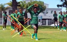 Banyana Banyana training in Cape Town. Picture: @Banyana_Banyana/Twitter.