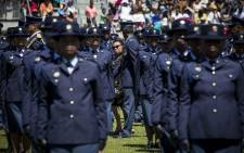 FILE: Police recruits in Philippi, Cape Town. Picture: Thomas Holder/EWN