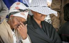 Xolile Mngeni's grandmother took his death the hardest. Picture: Thomas Holder/EWN.