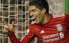 Liverpool's Luis Suárez. Picture: AFP