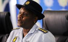 National Police Commissioner Riah Phiyega. Picture: AFP.