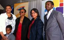 Cape Town Mayor Patricia de Lille and the Biko family attended the renaming of NY1 in Gugulethu to Stephen Biko Drive on 24 September 2012. Picture: Rahima Essop/EWN
