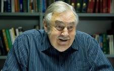 Former Foreign Affairs Minister Pik Botha at his home in Pretoria on 17 April 2012. Picture: Gallo Images/Foto24/Lisa Hnatowicz