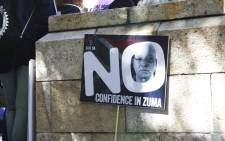 Save South Africa says President Jacob Zuma needs to resign. Picture: Cindy Archillies/EWN
