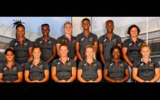 The Springbok Women's Sevens team. Picture: www.sarugby.co.za