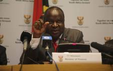 FILE: Finance Minister Tito Mboweni said he was happy the document roused public debate on economic strategy. Picture: EWN.
