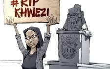 Cartoon: RIP Khwezi - A Silent Eulogy